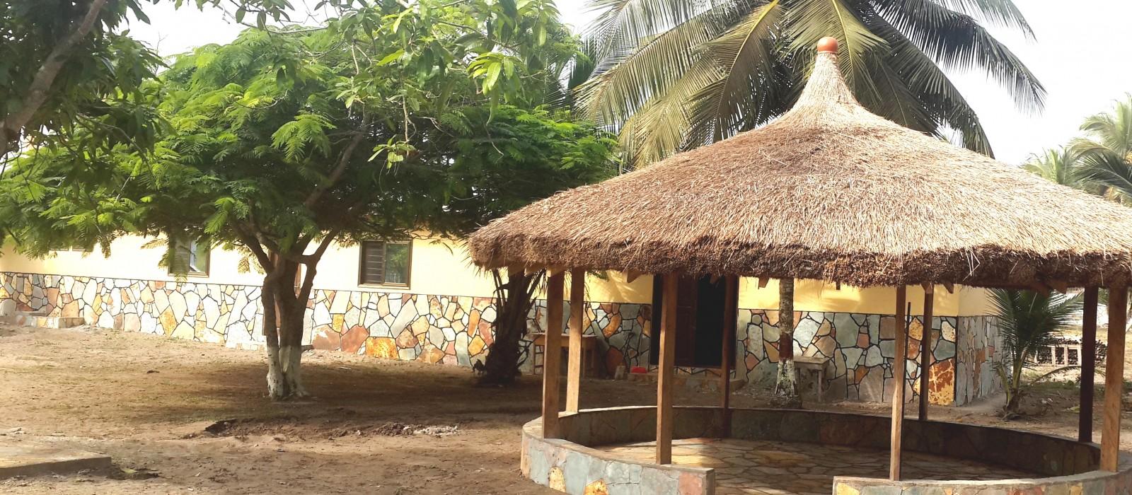 Summer hut beach house