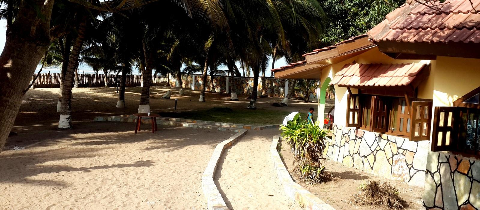 Beach house - side view