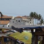 Beach House Ghana - Elmina fort & markt