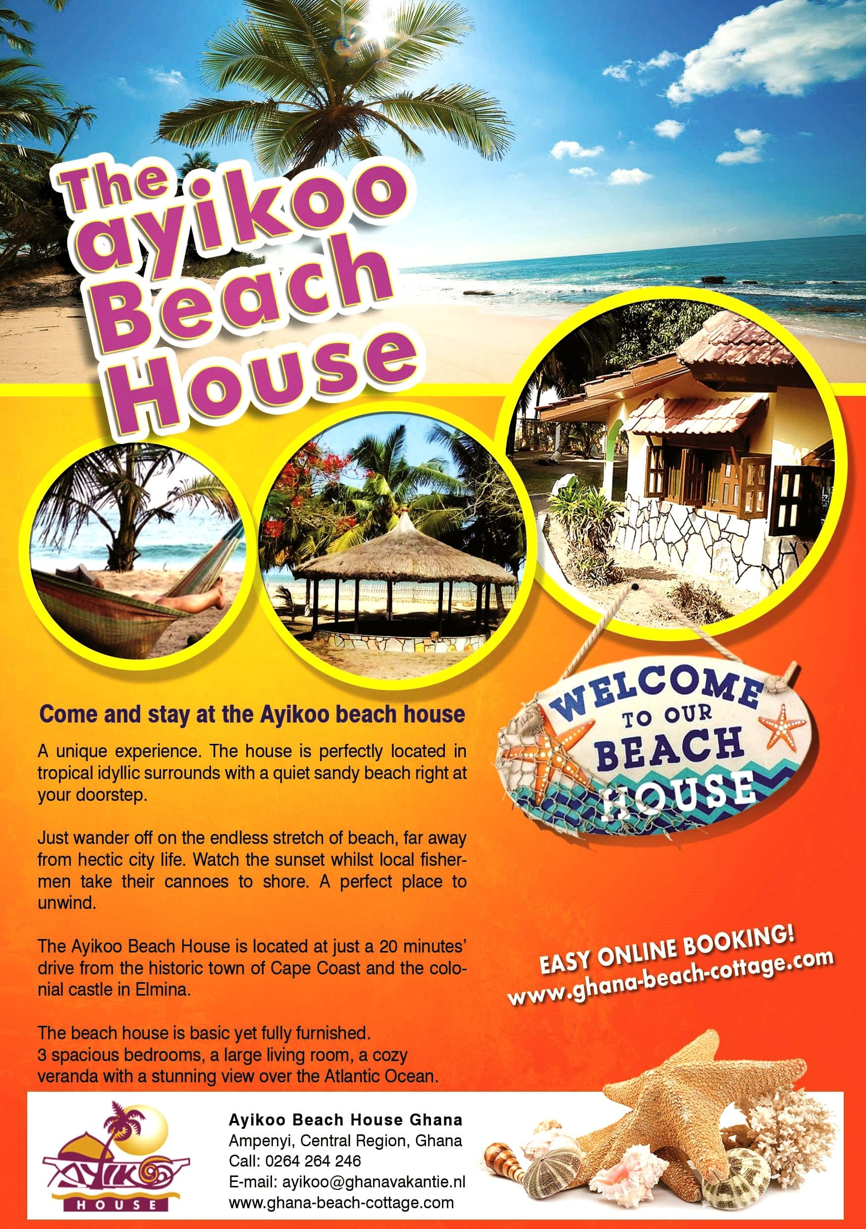 Check out our Beach House Flyer!