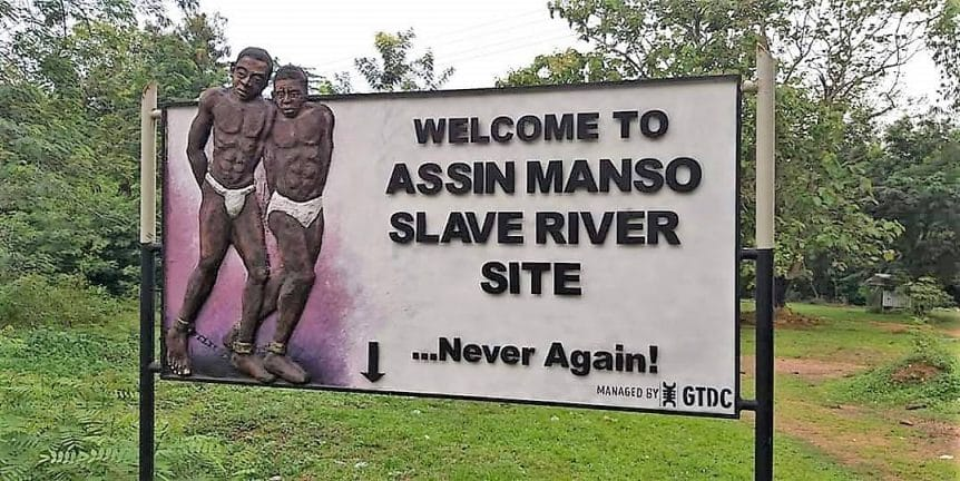 Image result for Assin Manso Slave River